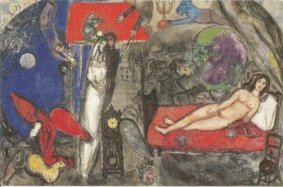 A ma Femme,Marc Chagall