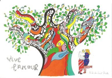 Niki de St.Phalle-Amour