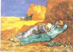 Ontspanning,Van Gogh