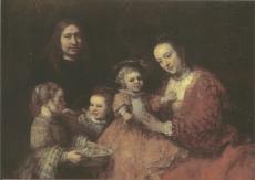 Familieportret c1665-rembrandt