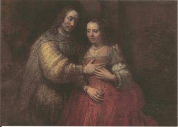 Het Joodse bruidje,Isaac&Rebecca-c1665-c1669