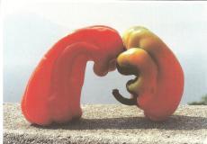 verliefde paprika's
