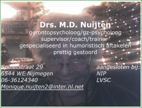 Monique Nuijten,drs Knipsel