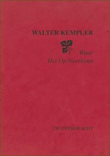 Kaft publicatie Walter Kempler Knipsel